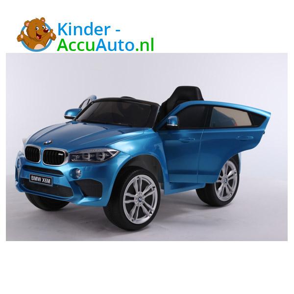 BMW X6M Blauw Kinderauto 9