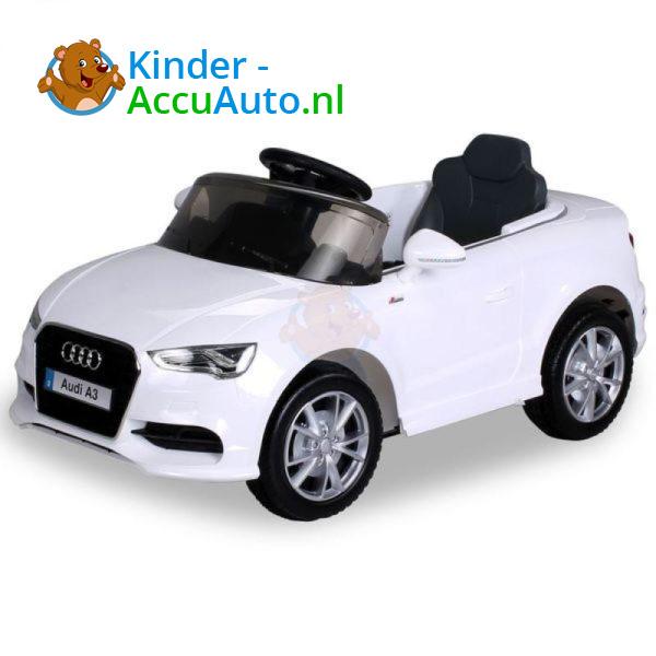 Audi A3 Kinderauto Wit 1