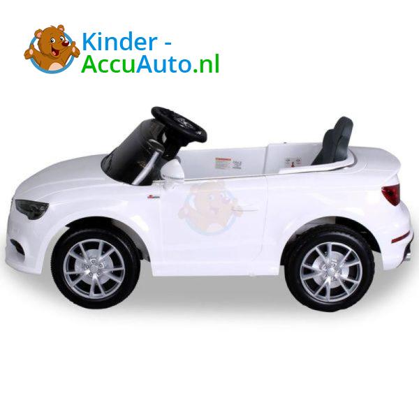 Audi A3 Kinderauto Wit 7