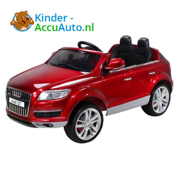 Audi Q7 Kinderauto Rood 1