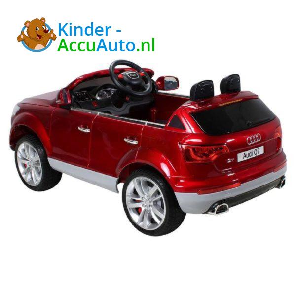 Audi Q7 Kinderauto Rood 4