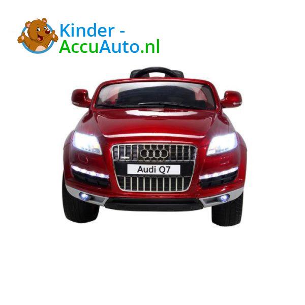 Audi Q7 Kinderauto Rood 6
