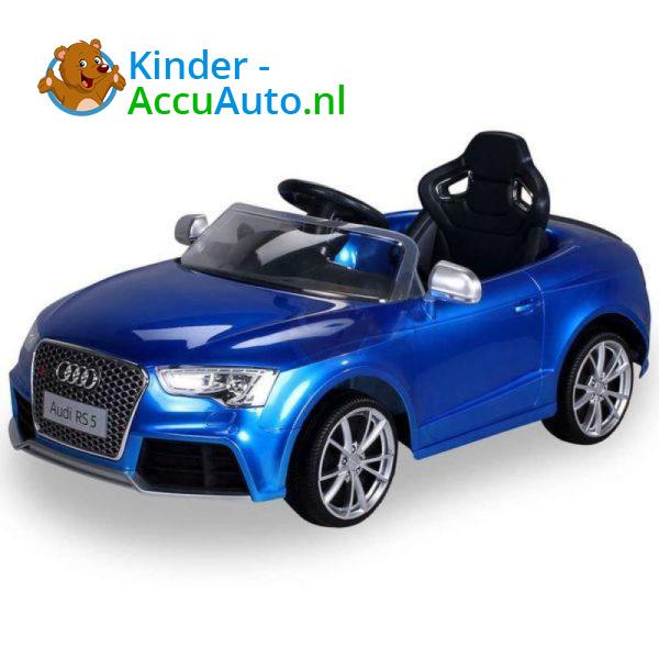 Audi RS5 Kinderauto Blauw 1