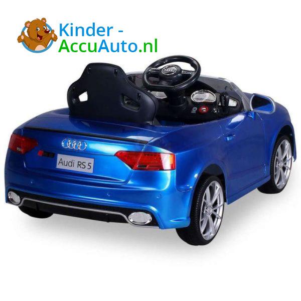 Audi RS5 Kinderauto Blauw 2