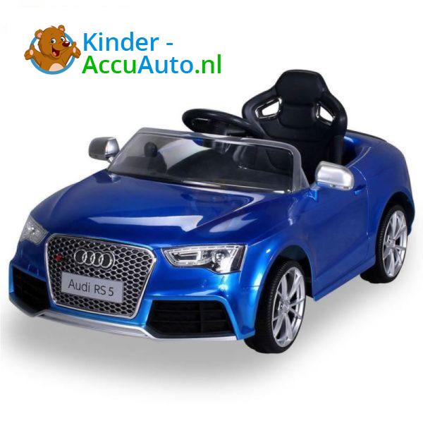Audi RS5 Kinderauto Blauw 3
