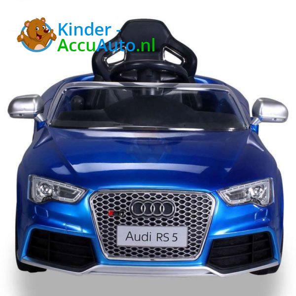 Audi RS5 Kinderauto Blauw 4