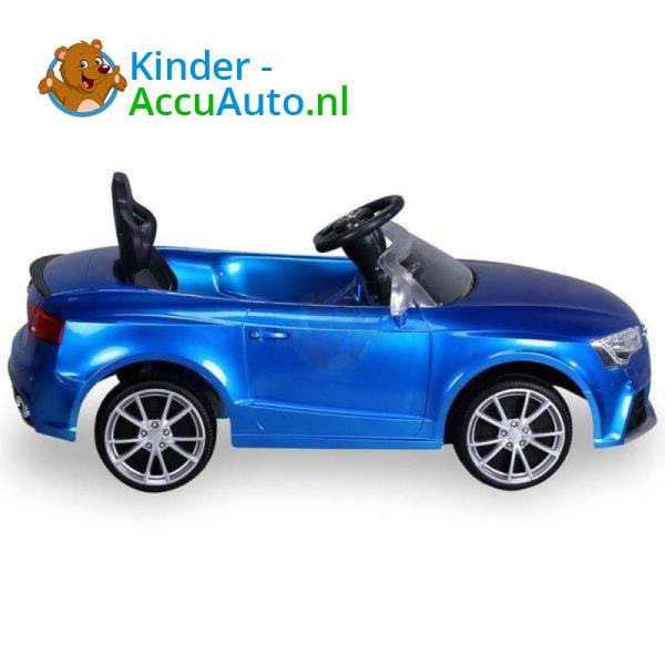 Audi RS5 Kinderauto Blauw 5