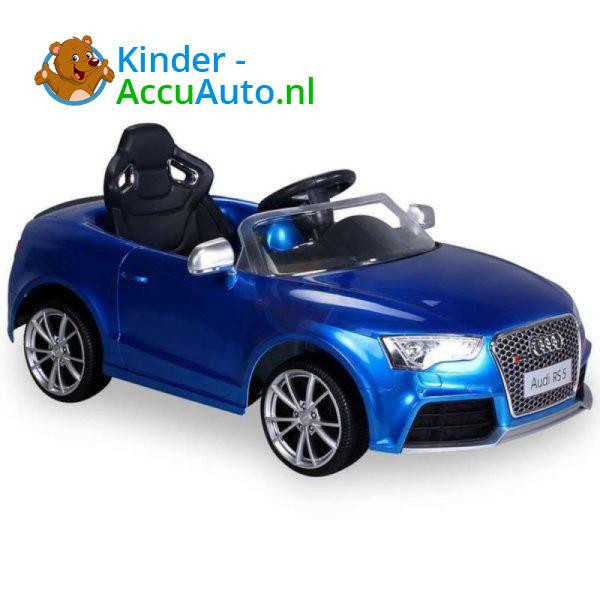 Audi RS5 Kinderauto Blauw 6