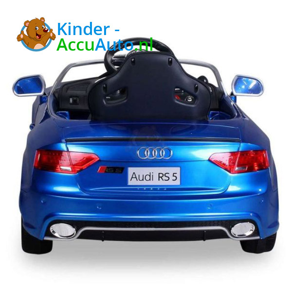 Audi RS5 Kinderauto Blauw 8