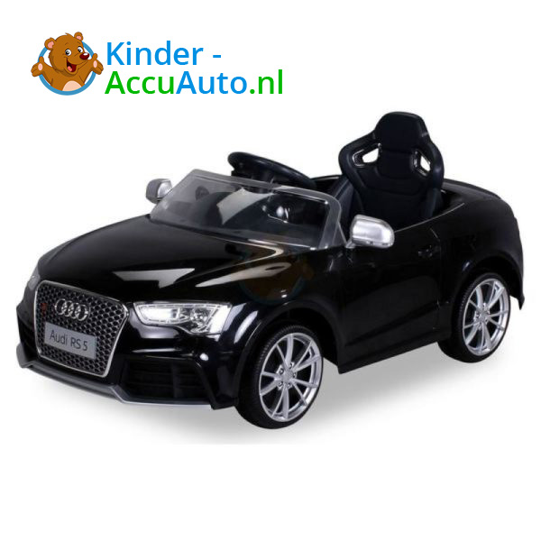 Audi RS5 Kinderauto Zwart 1