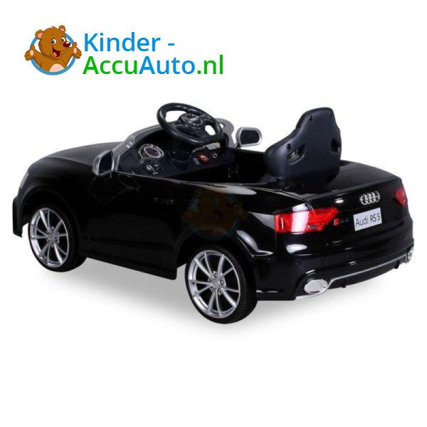 Audi RS5 Kinderauto Zwart 6