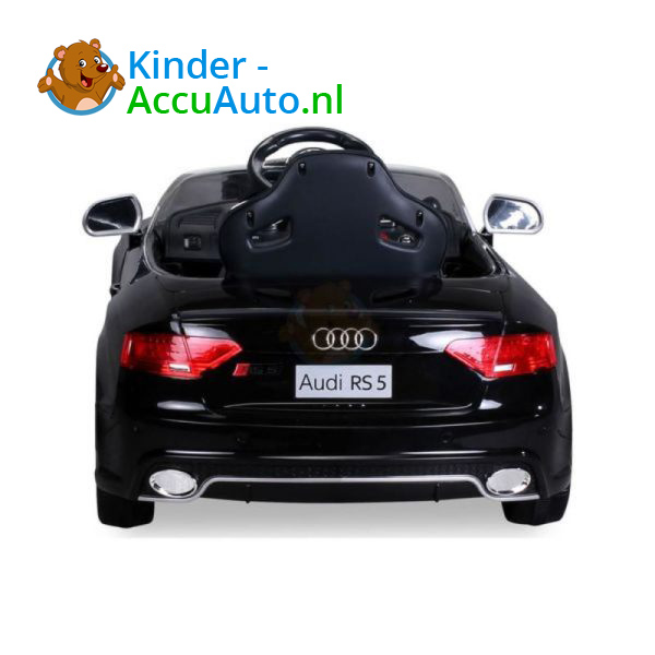 Audi RS5 Kinderauto Zwart 7
