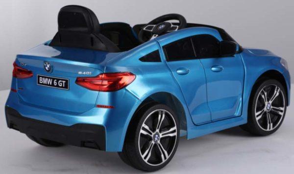 BMW 6 GT Kinderauto Blauw 2