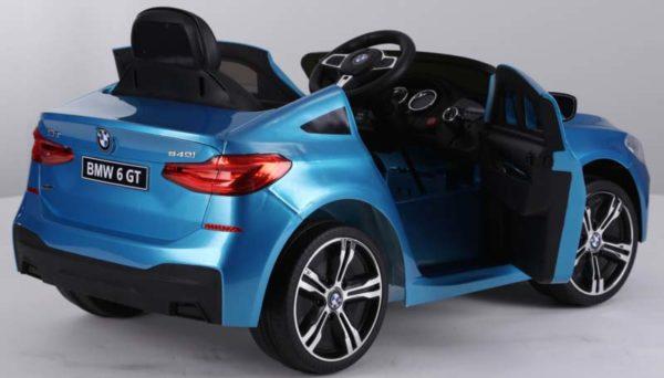 BMW 6 GT Kinderauto Blauw 3