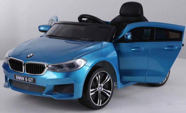 BMW 6 GT Kinderauto Blauw 5