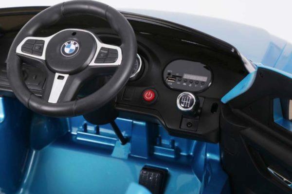 BMW 6 GT Kinderauto Blauw 6