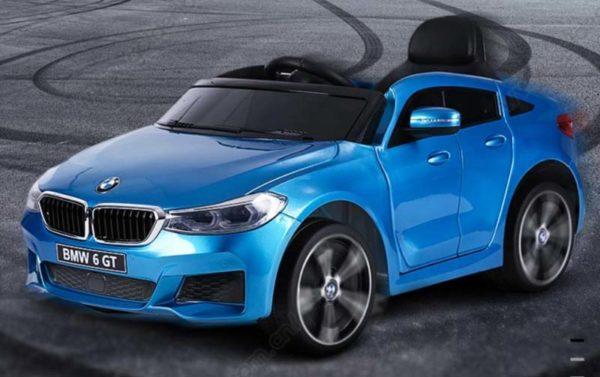 BMW 6 GT Kinderauto Blauw 7
