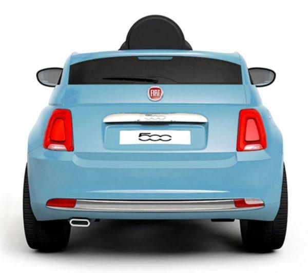 Fiat 500 Kinderauto Blauw 2