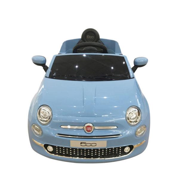 Fiat 500 Kinderauto Blauw 4