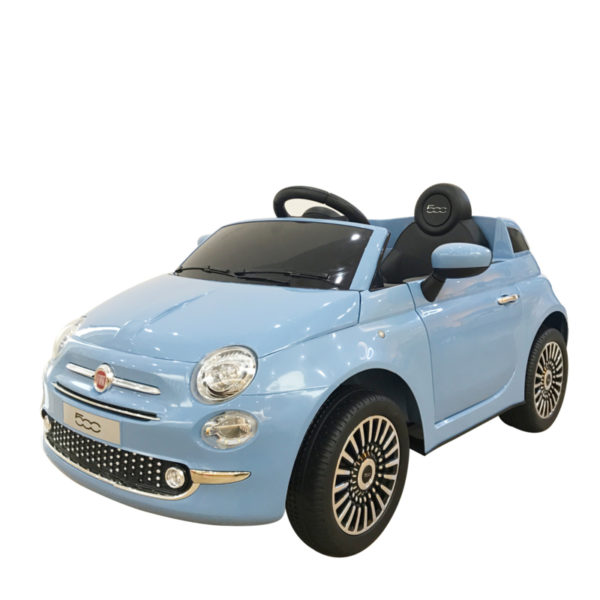 Fiat 500 Kinderauto Blauw 5