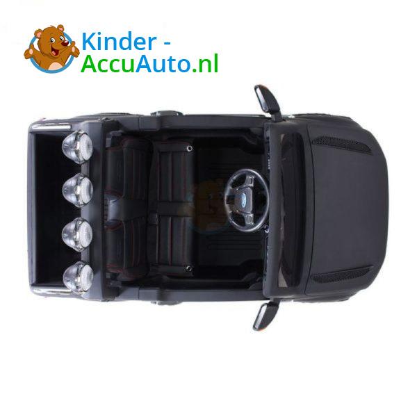 Ford Ranger Kinderauto Mat Zwart 2