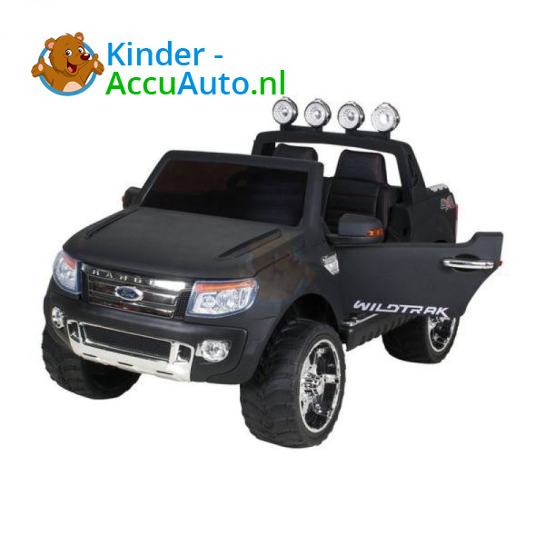 Ford Ranger Kinderauto Mat Zwart 9