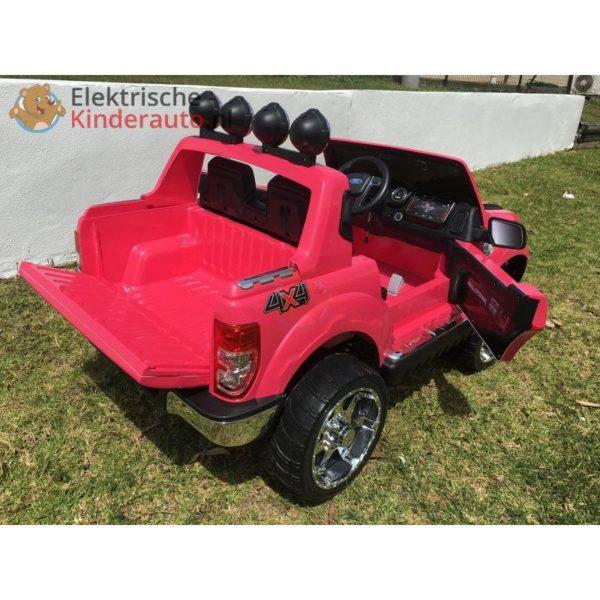 Ford Ranger Kinderauto Roze 10
