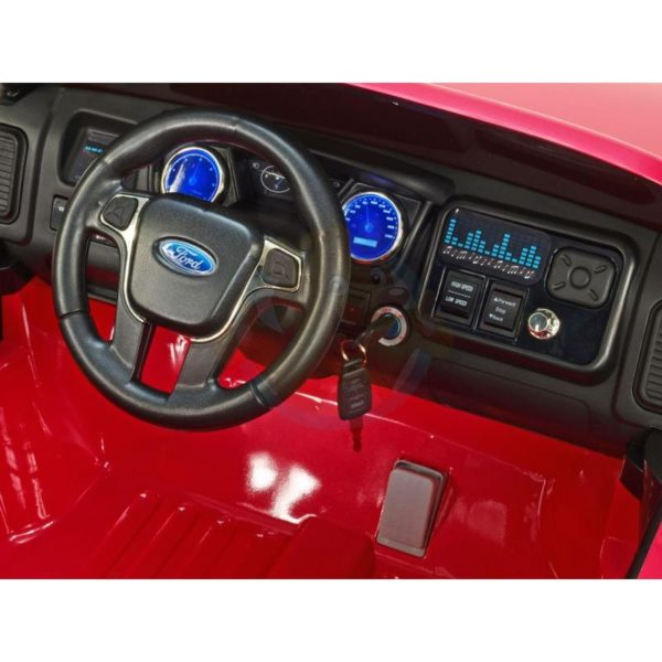 Ford Ranger Kinderauto Roze 6