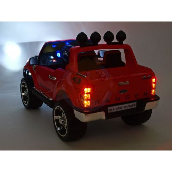 Ford Ranger Kinderauto Roze 8