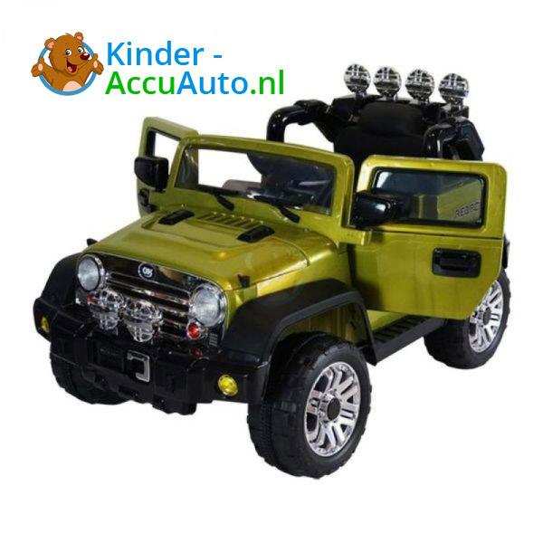 Jeep Kinderauto Groen 1