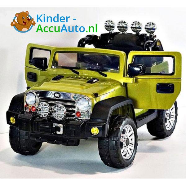 Jeep Kinderauto Groen 2