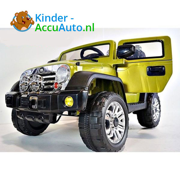 Jeep Kinderauto Groen 3