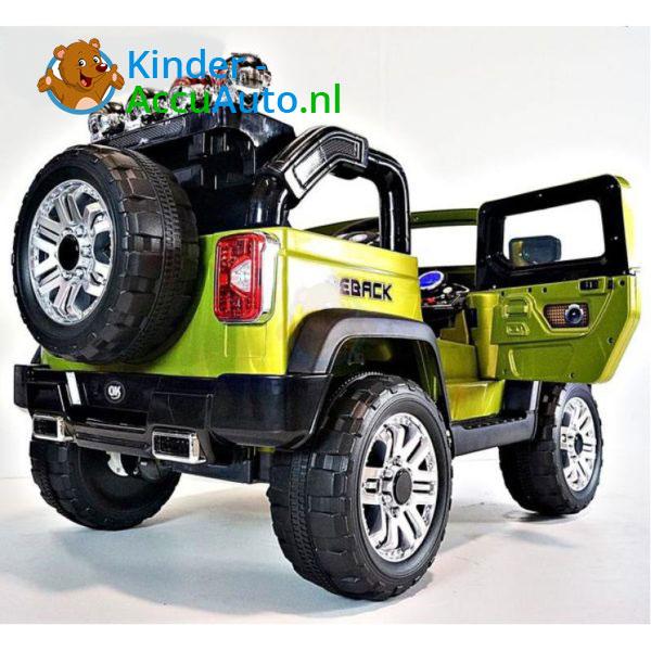 Jeep Kinderauto Groen 4