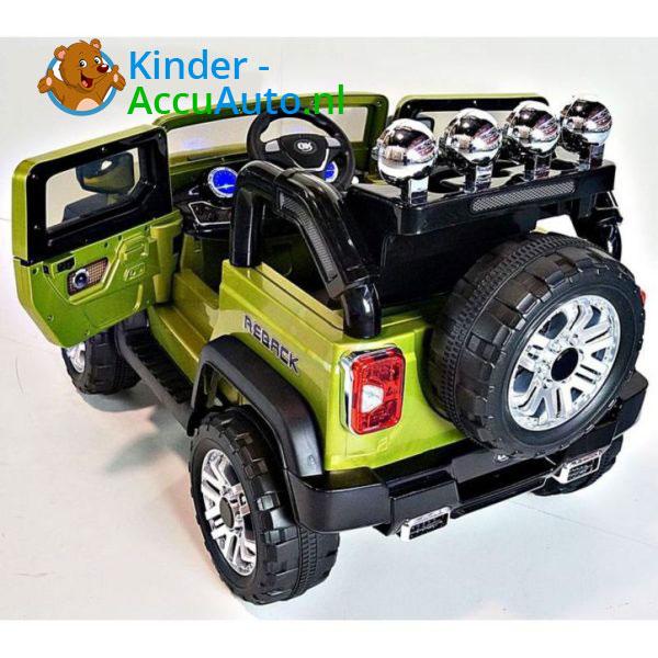 Jeep Kinderauto Groen 5