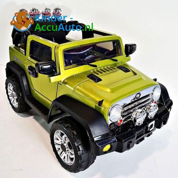 Jeep Kinderauto Groen 6