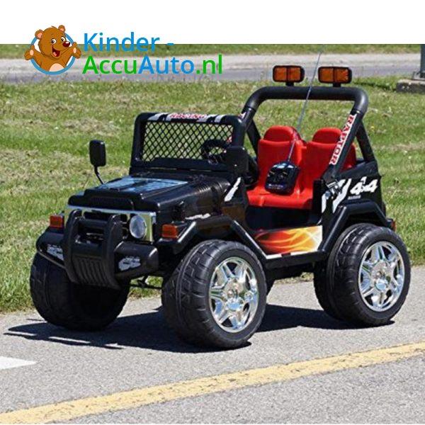 Jeep Raptor Kinderauto Zwart 2