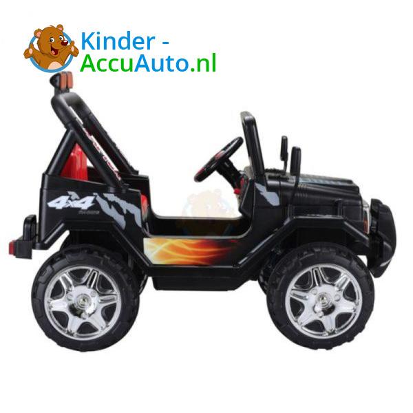 Jeep Raptor Kinderauto Zwart 3