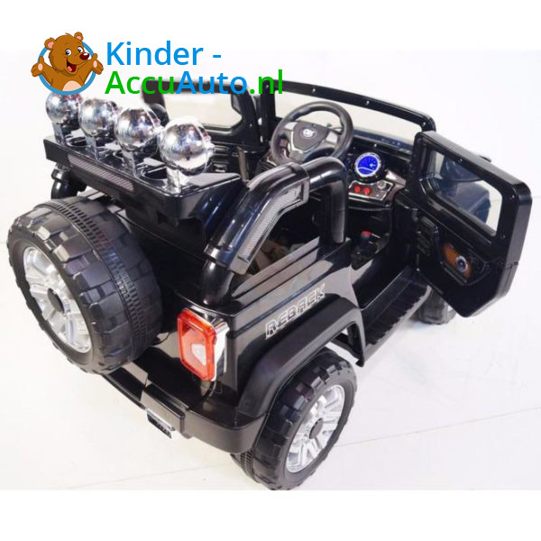 Jeep Kinderauto Zwart 4