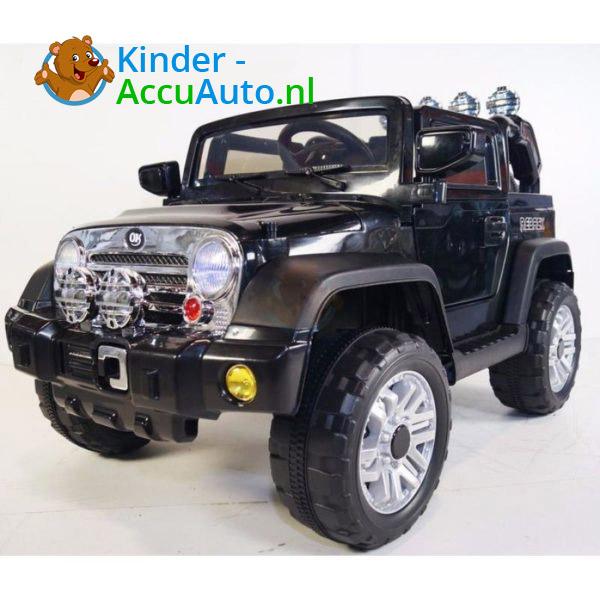 Jeep Kinderauto Zwart 5