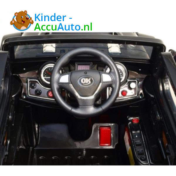 Jeep Kinderauto Zwart 6