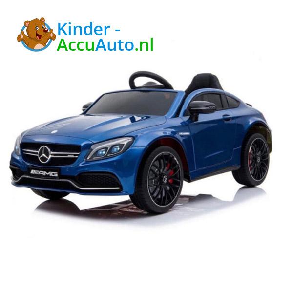Mercedes C63 S Kinderauto Blauw 1