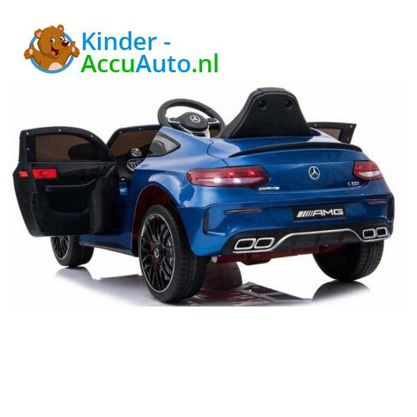 Mercedes C63 S Kinderauto Blauw 2