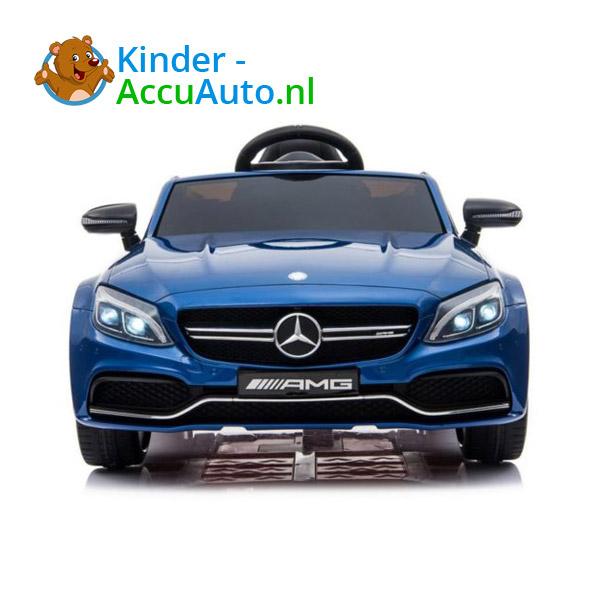 Mercedes C63 S Kinderauto Blauw 3
