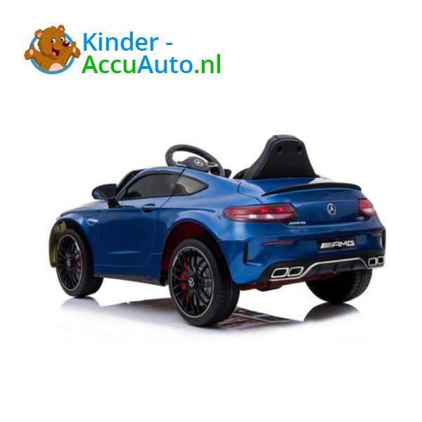 Mercedes C63 S Kinderauto Blauw 4