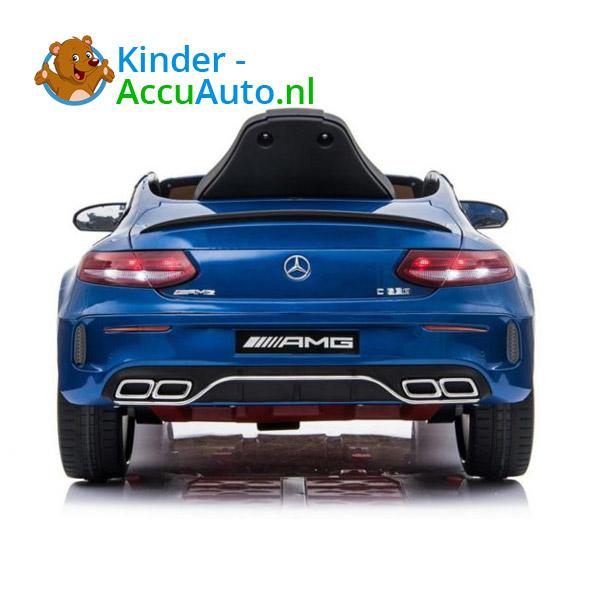 Mercedes C63 S Kinderauto Blauw 5