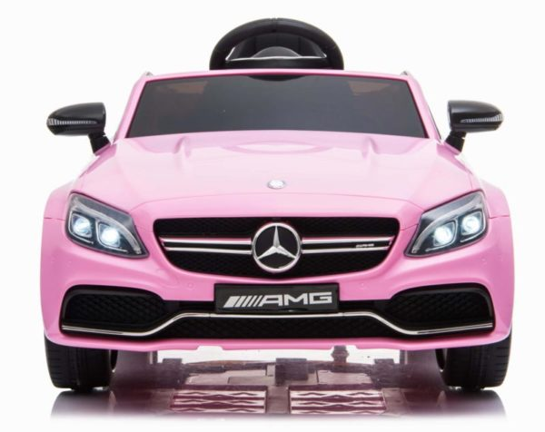 Mercedes C63 S Kinderauto Roze 2