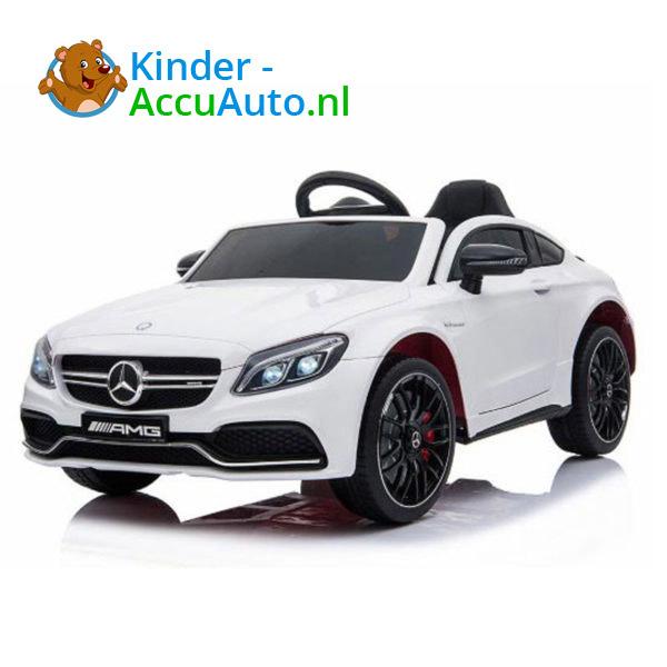 Mercedes C63 S Kinderauto Wit 1