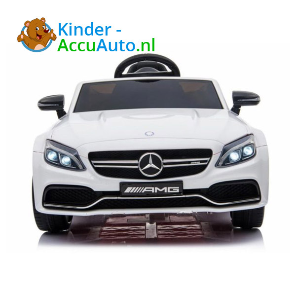 Mercedes C63 S Kinderauto Wit 2