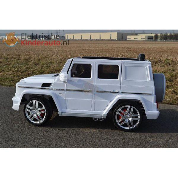 Mercedes G63 AMG Kinderauto Wit 6