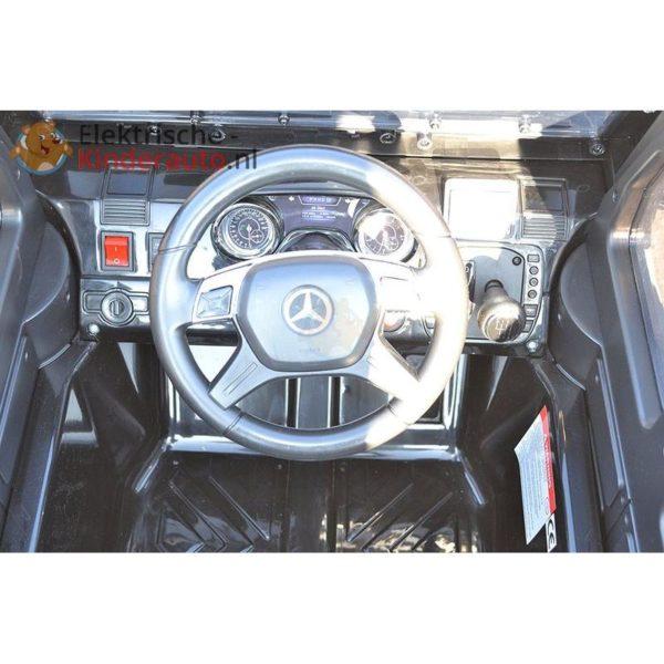 Mercedes G63 AMG Kinderauto Wit 8